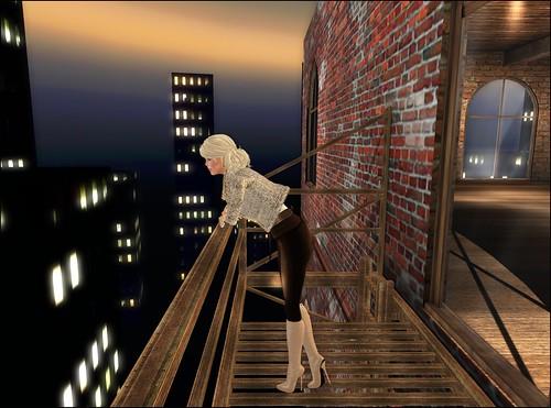 City Girl - Fire Escape