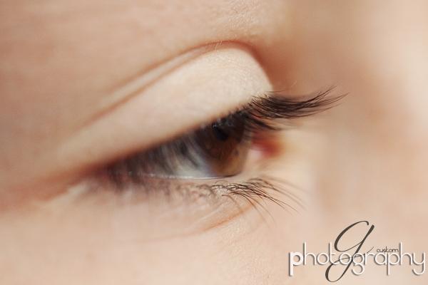 Andrew's lashes
