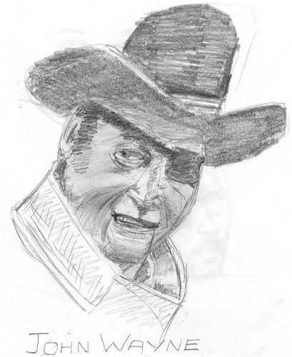 John Wayne (non eraser art)