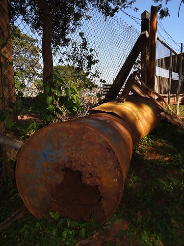 Tanques oxidades, predio de ANDE San Lorenzo