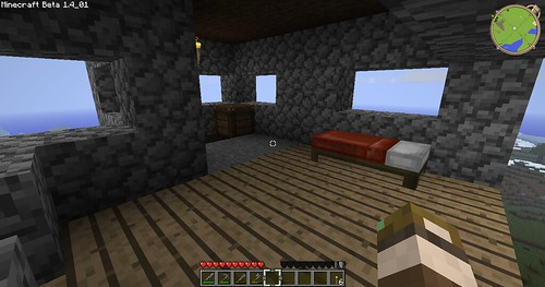 Minecraft - Inside the New house