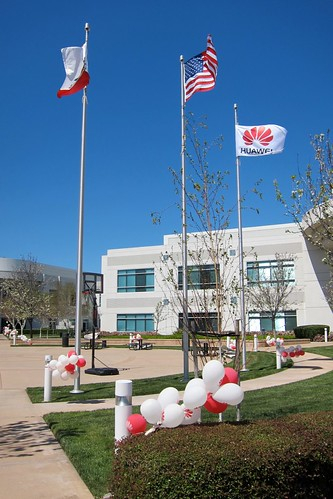 Huawei flags