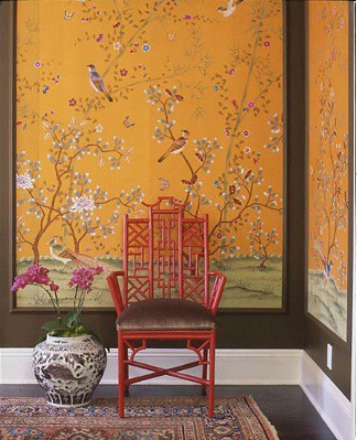 schuyler samperton design wall paper panel