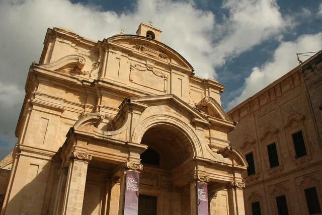 Church of St. Catherine in Triq Nofsinhar street Valletta Malta