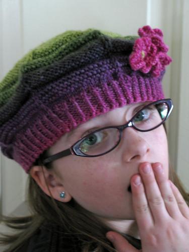 Hazel's Xmas Hat Ohh