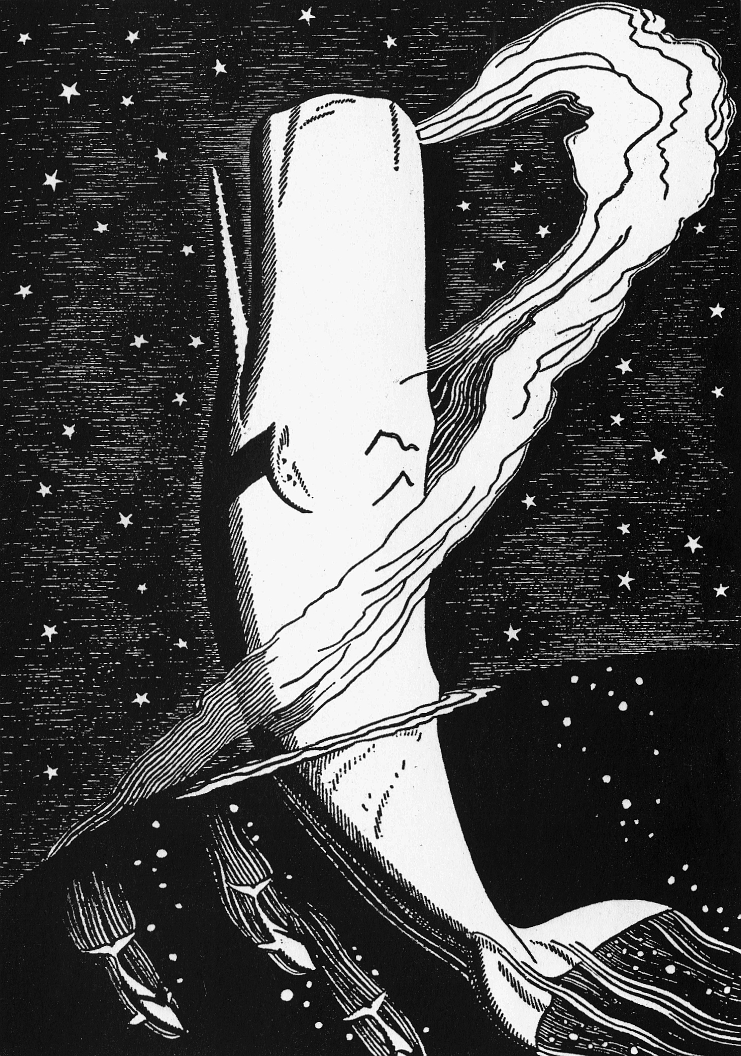 Rockwell Kent, Moby Dick, illustration for Chapter XLI, Moby Dick