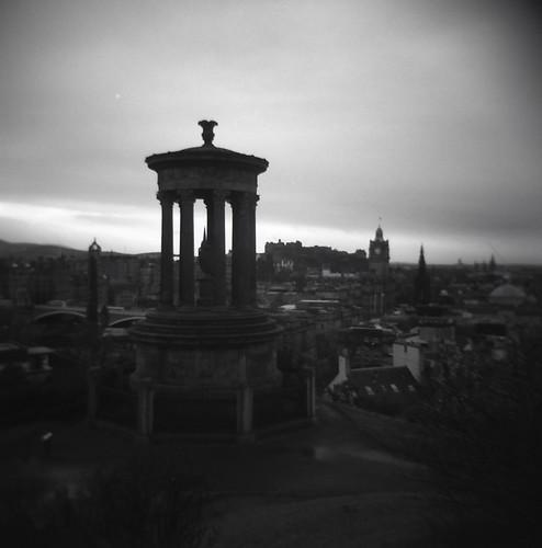 Edinburgh through a Holga with Rollei Film