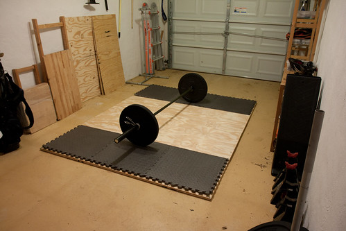 building an olympic lifting