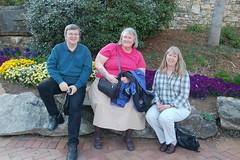 Christian, Carolyn, and Laura