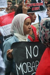No Mobarak - Egypt Uprising protest Melbourne ...