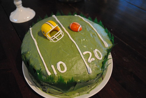Green Bay Victory Cake