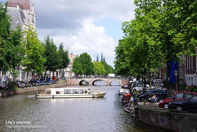 來阿姆斯特丹,千萬不可以錯過美麗的運河風光。
