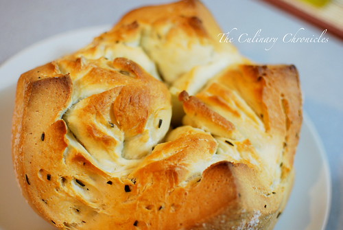 """Bloomin' Herb Bread"" and a Bread Baking Binge Confession"