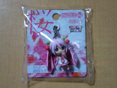 Nendoroid Plus Sakura Miku charm