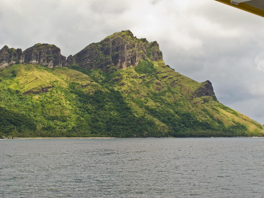 An island between Korovou and Waya Lailai