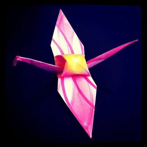 Pink and Flowery #1000cranes