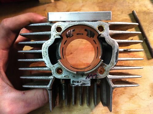 brass inserts for proper port/piston alignment