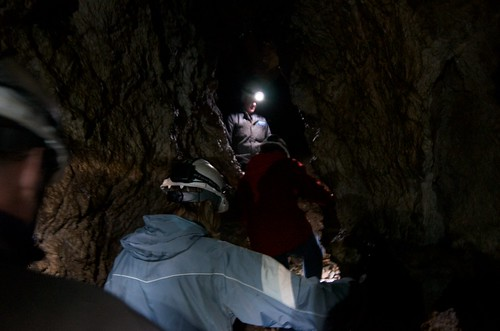 Caving at Horne Lake
