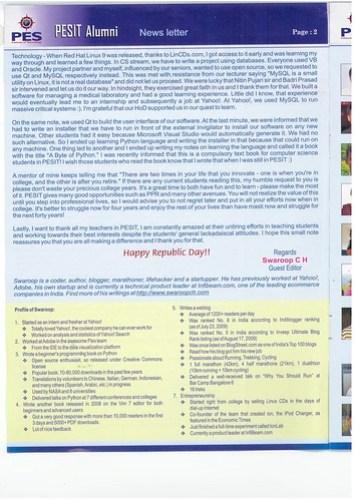 pesit_alumni_newsletter_2