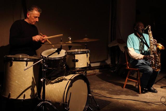 Steve Noble and Arthur Doyle, by Scott McMillan