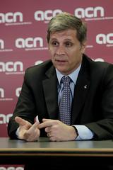 Alberto Fernández Díaz visita l'ACN