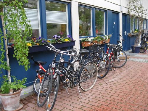 Bikes in Olympiapark