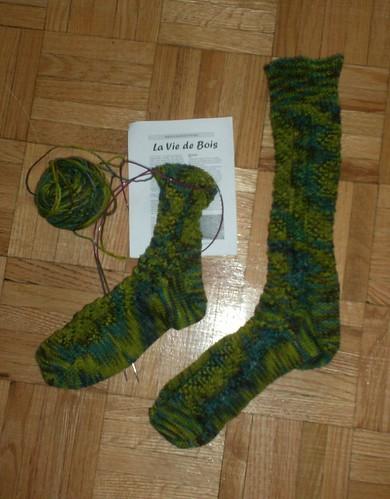 La Vie de Bois Socks 80%