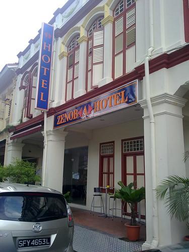 Dónde dormir y alojamiento en Singapur (Singapur) - Zenobia Hotel.
