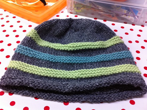 Finished hat
