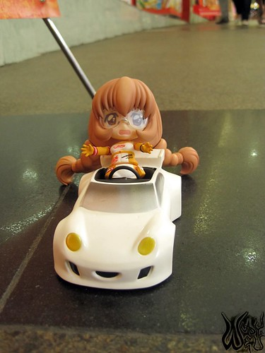 """W-whoa ... the car is moving by itself!"""