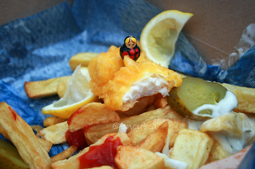 foto fish and chips a londra