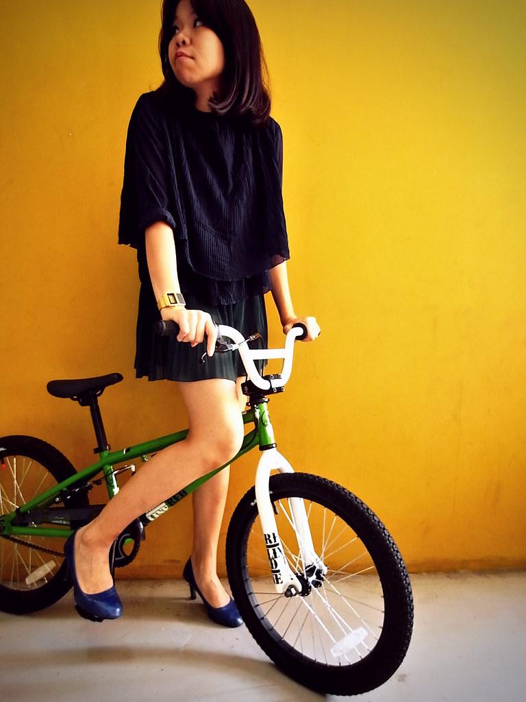 Boboniaa x Biker Pleat