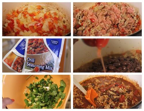 Crumbs & Creativity   Chicken & Black Bean Chili