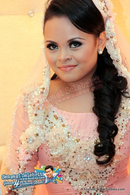 Gambar Siti Sarah  Shuib Sepah Nikah  Sensasi Selebriti