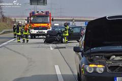 Verkehrsunfälle A66 Weilbach 26.02.11