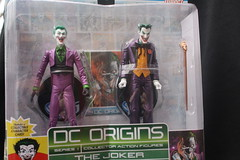 Bat-inventory: DC Origins Joker Figures