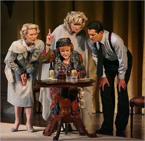 Blithe Spirit starring Angela Lansbury Crystal Ball Stage Photo