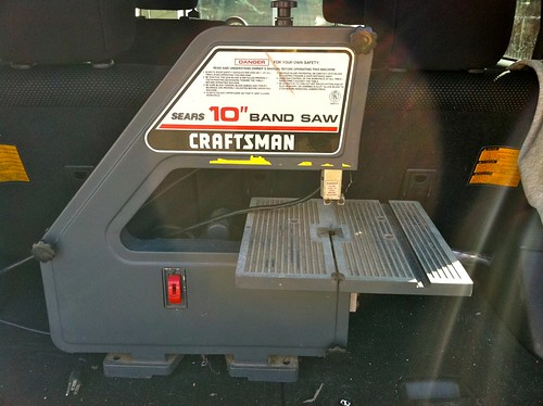 "Craftsman 10"" benchtop band saw"