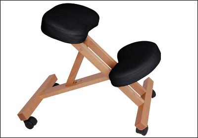 Kneeling-chair-wooden-frame