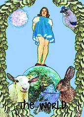 Grand Ellessia Tarot: The World by Grand Ellessia Tarot Cards