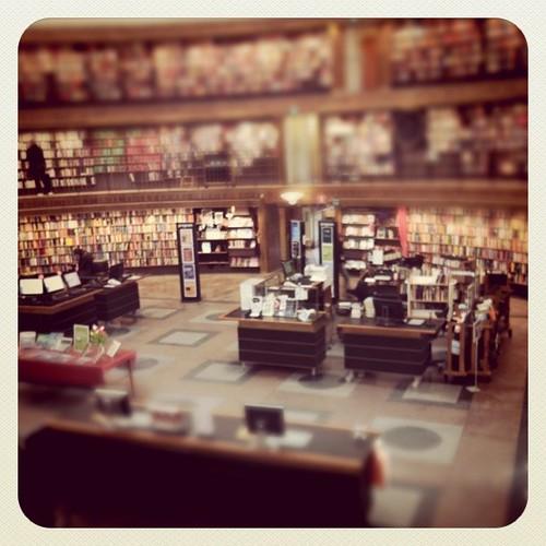 Stadsbiblioteket by Anna-Stina Takala on Flickr / CC by 2.0