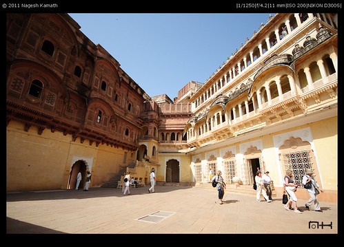 Courtyard in Meherangarh