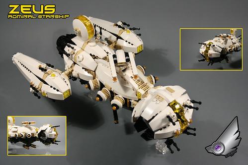 """""""ZEUS"""" first fleet admiral ship"""