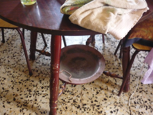 A camilla table
