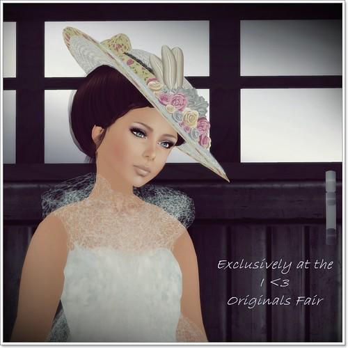 Hatpins - Lady Valeria - Vanilla Valentine