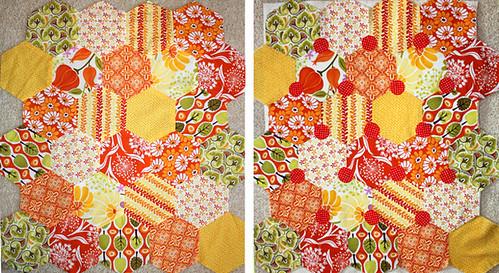 hexagon patchwork