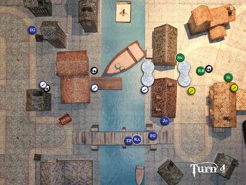 Malifaux Battle Report - Turn 4