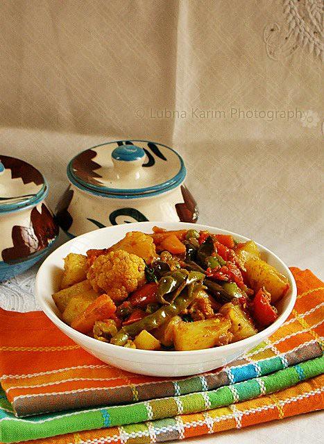 Mixed Vegetables Sabzi