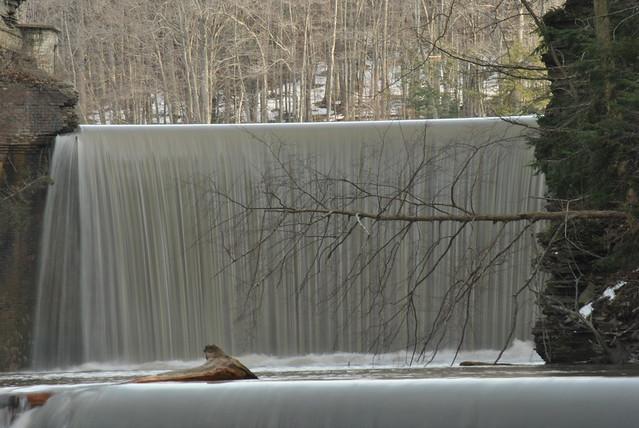 Six Mile Creek Dam and Falls