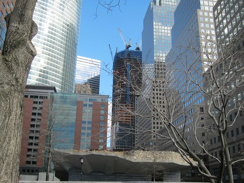 World Trade Center desde Battery Park
